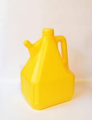 Μπετόνι 4L Βιδωτό Ασφαλείας 1300 Δίστομο Κίτρινο