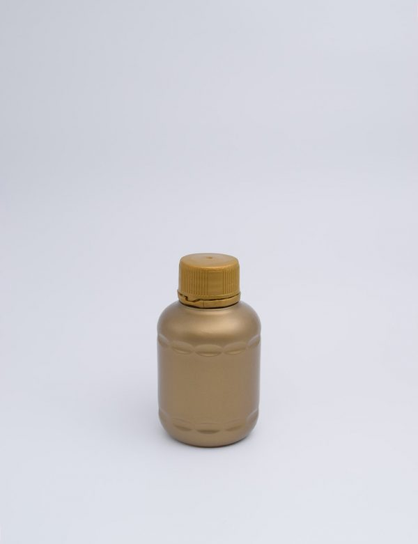 Φιάλη 100ΓΡ Βιδωτό Ασφαλείας Mix Χρυσό