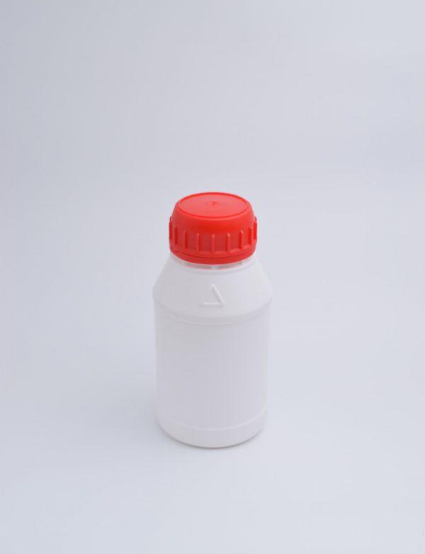 Φιάλη 200 γρ. Βιδωτό Ασφαλείας Κυλινδρικό Λευκό Νέο