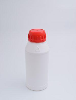 Φιάλη 250 γρ. Βιδωτό Κυλινδρικό Νέο Λευκό