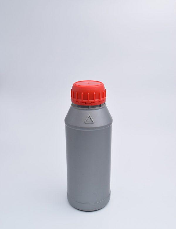 Φιάλη 300 γρ. Βιδωτό Ασφαλείας Κυλινδρικό Ασημί