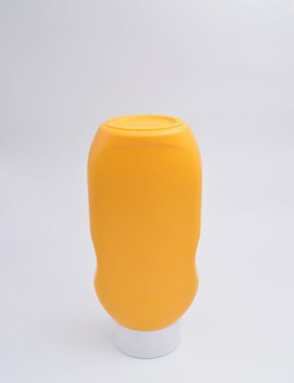 Φιάλη 500 γρ. Βιδωτό Πλακέ Topdown Κίτρινο