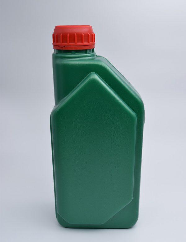 Φιάλη 1L Βιδωτό Πλακέ Νέο Πράσινο