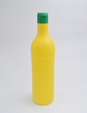 Φιάλη 320 γρ. Κουμπωτό Κυλινδρικό Λεμονάκι Κίτρινο