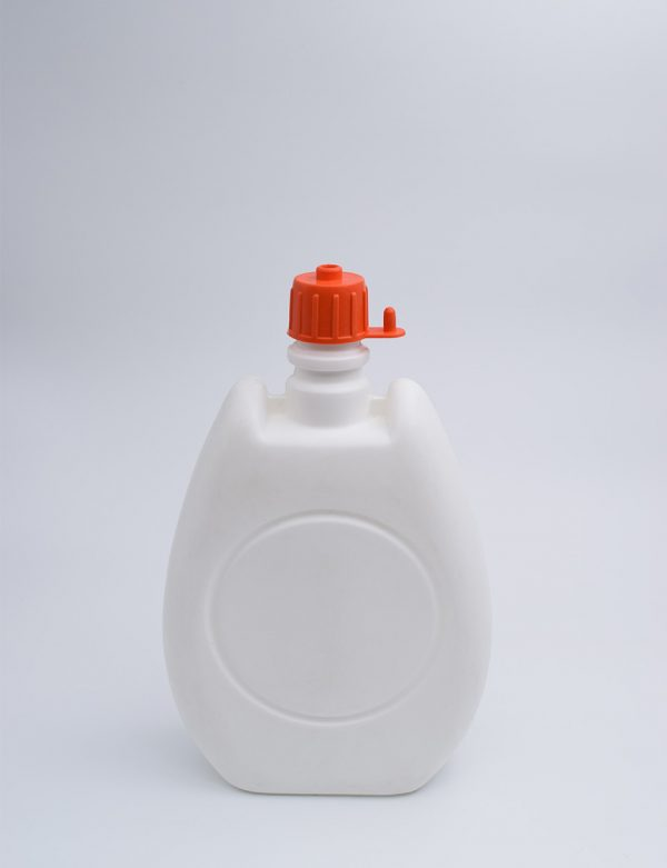 Φιάλη 500 γρ. Κουμπωτό Υγρό Μπαταρίας Πλακέ Λευκό